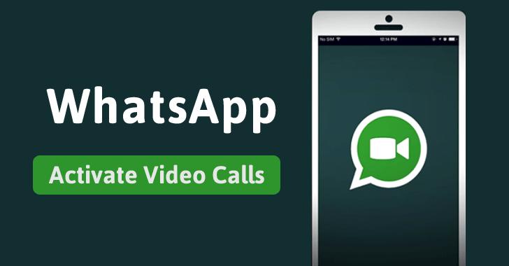 how to make whatsapp video call on ipad